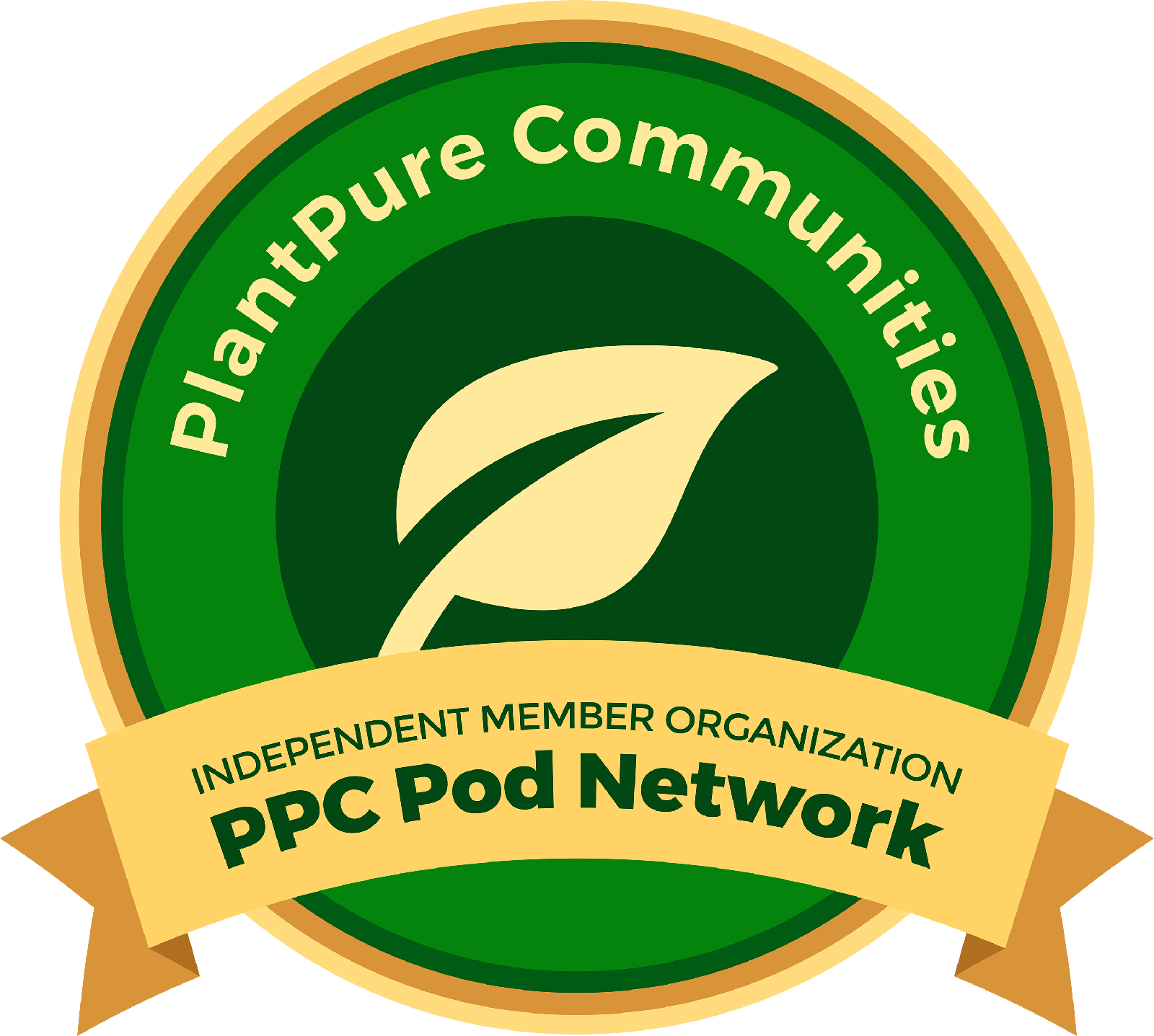 PlantPure Communities Pod Network Badge